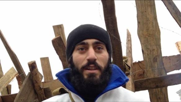 Serhiy Nigoyan, murdered by sniper on Jan. 21 in Kyiv.