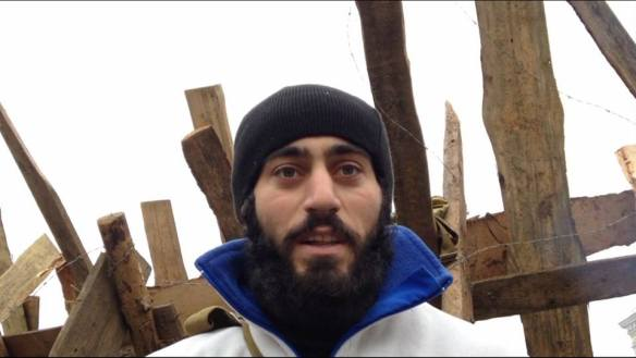 Serhiy Nigoyan, murdered by sniper on Jan. 21 in Kyiv.
