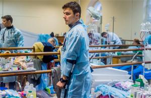 Medical staff of the People's Hospital. Photo by Yuliya Kochetova