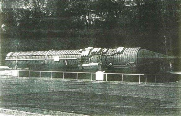 15A11 command missile of the Perimeter System, KB Yuzhnoye, Dnipropetrovsk, Ukraine, Soviet era