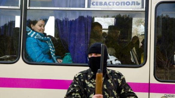 Representative of the so-called self-defense in Crimea.
