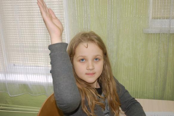 Sasha, age 7
