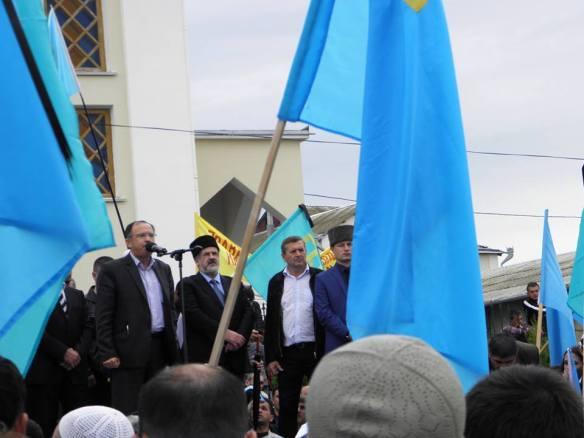 Rally in Simferopol. Photo via Крим SOS facebook page